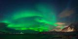 Aurora Borealis Above Ramberg, Lofoten, Nordland, Norway