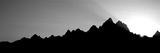 Sunset Teton Range Grand Teton National Park Wy Usa