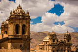 City Skyline of Cusco, Peru, South America