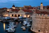 Dubrovnik Harbour, UNESCO World Heritage Site, Croatia, Europe