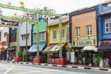 Colourful Shophouses in South Bridge Road, Chinatown, Singapore, Southeast Asia, Asia