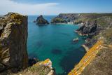 Kynance Cove on the Lizard Peninsula, Cornwall, England, United Kingdom, Europe