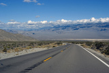 Road from Mt Charleston to Las Vegas, Nevada, United States