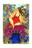 Big Diva Fairy on Mushroom