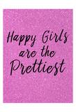 Happy Girls Pink