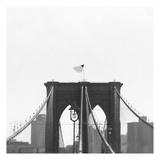 Brooklyn Bridge bw