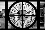 Giant Clock Window - View on Meatpacking District - New York City V