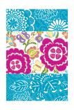 Tropical Embroidery Panel II