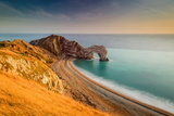 A View of Durdle Door in Dorset
