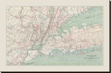 New York City Transportation Map