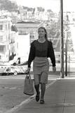 Unidentified Model in San Francisco, California, 1960