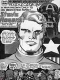 Captain America Bicentennial Battles Headshot: Captain America, Marvel Comics and X-Men