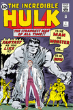 Marvel Comics Retro: The Incredible Hulk Comic Book Cover No.1, with Bruce Banner