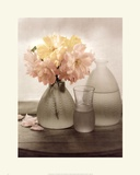 Frosted Glass Vases III