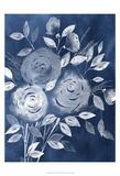 Cyanotype Roses I