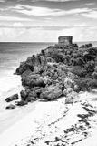 !Viva Mexico! B&W Collection - Tulum Riviera Maya VIII