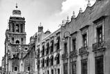 !Viva Mexico! B&W Collection - Mexico City Facades II
