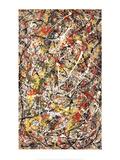 Number III Litografia por Jackson Pollock