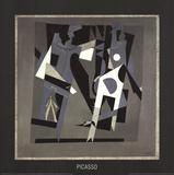 Harlequin and Woman with Necklace Litografia por Pablo Picasso