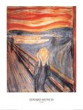 Pânico Litografia por Edvard Munch