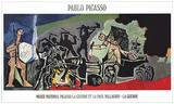 The War Litografia por Pablo Picasso