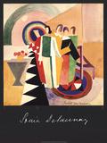 Uten tittel Litografi av Sonia Delaunay