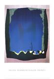 Freefall Litografi av Helen Frankenthaler