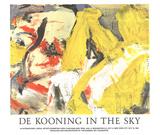 In the Sky Litografia por Willem de Kooning