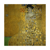 Adele Bloch-Bauer I, 1907 Oil, silver, and gold on canvas 55 1/8 x 55 1/8 in. (140 x 140 cm) Giclée-Druck von Gustav Klimt