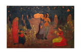 Les ages de la vie-the ages of life, 1892 Oil on canvas, 151 x 240 cm. Giclee Print by Georges Lacombe