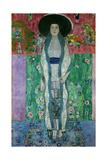 Mrs. Adele Bloch-Bauer II Oil on canvas. Giclée-Druck von Gustav Klimt