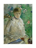 L'ete - summer, 1880 Oil on canvas, 676 x 61 cm. Posters by Berthe Morisot