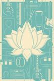 Lotus Music Kunstdrucke
