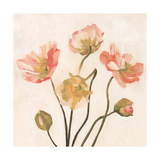 Summer Poppies II Premium Giclee Print by Emma Scarvey