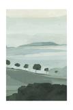 Blue Ridge Fog I Prints by Emma Scarvey