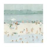 Sea Glass Sandbar I Premium Giclee Print by Emma Scarvey