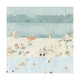 Sea Glass Sandbar II Premium Giclee Print by Emma Scarvey