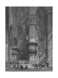 'The Interior of Milan Cathedral, Looking Towards The High Altar', 1844 Giclee Print by Thomas Higham