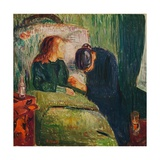 'The Sick Child', 1907 Giclee Print by Edvard Munch