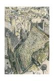 'Vue De Valogne', c1911 Giclée-vedos tekijänä Georges Dupuis