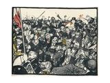 'Le Triomphateur Aux Elections, c1911 Giclée-vedos tekijänä Georges Dupuis