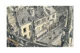 'Une Rue De Valogne', c1911 Giclée-vedos tekijänä Georges Dupuis
