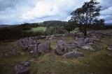 The Round Pound at Kestor Settlement, Dartmoor, Devon, 20th century Valokuvavedos tekijänä Unknown,