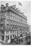 'First Avenue Hotel', 1912 Valokuvavedos tekijänä Unknown,