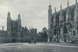 'School Yard and Chapel', 1926 Valokuvavedos tekijänä Unknown,