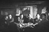 'Lower End of Supper Table', c1893-1896, (1897) Valokuvavedos tekijänä Unknown,