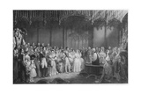 'The Marriage of Queen Victoria and Prince Albert', c1840, (1911) Giclee Print by George Hayter