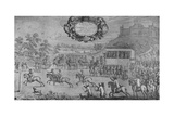 A Race Before Charles II, by Francis Barlow', c1650-1680, (1911) Giclee Print by Francis Barlow