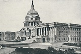 'The Capitol, Washington', 1916 Photographic Print by  Unknown