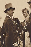 'Ascot, June, 1935 - King Edward, then Prince of Wales, with Mrs. Simpson', 1937 Photographic Print by  Unknown